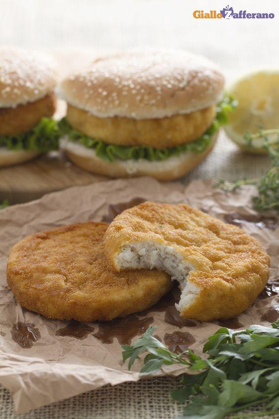 I #BURGER DI #PESCE (fish burger) sono una saporita ricetta a base di merluzzo…