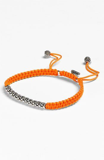 Macramé Bracelet from Nordstrom is simple and beautiful.