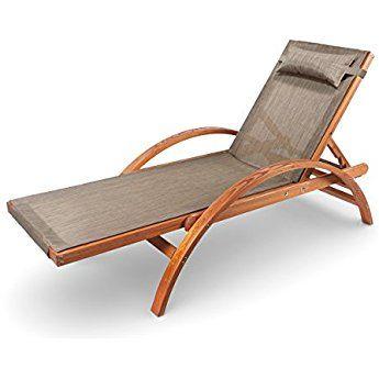 Ampel 24 Liegestuhl Caribic Verstellbare Ruckenlehne Sonnenliege Mit Armlehnen Gartenmobel Aus Vorbehandeltem Holz Schaukelstuhl Gartenliege Holz Relaxliege