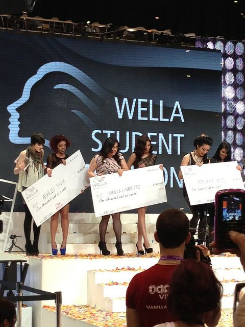 Winners of the Sebastian Category at the 2013 Wella Student Competition at America's Beauty Show by RegencyBeauty, via Flickr