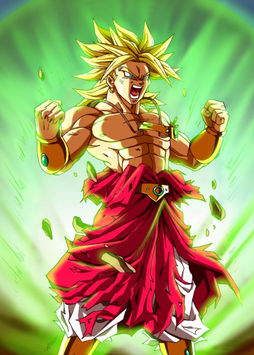 Dbz broly dragon ball z pinterest - Broly dragon ball gt ...