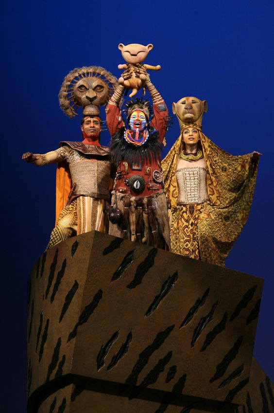 It's the circle of life. The Lion King Musical