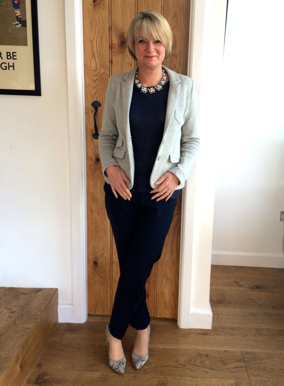 New Spring Fashion For Women Over 40 Knit Blazer