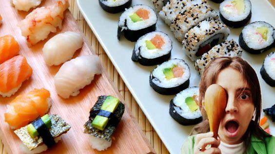 Cómo hacer sushi casero paso a paso -varios tipos- ¡Hacer sushi en casa no es tan difícil! Entre las recetas de sushi que encontré,e sta es la más simple. Le...