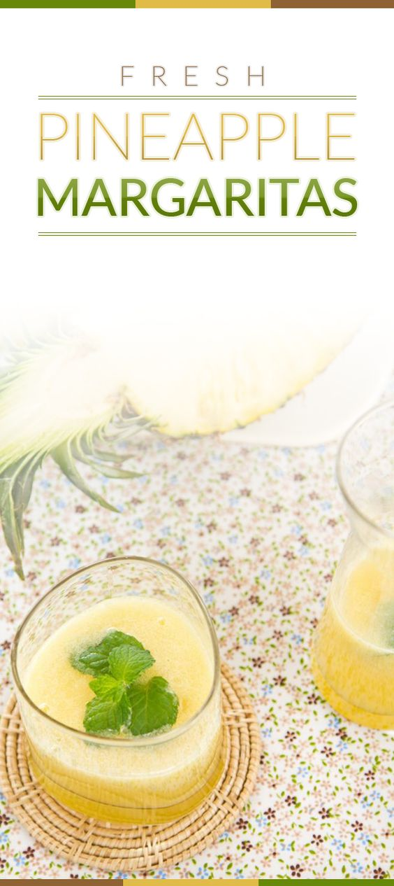 Fresh Pineapple Margaritas, my favourite refreshing drink in the ...