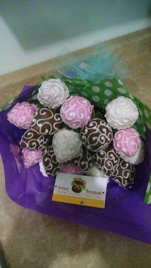 Ramo de fresas con chocolate by Sweet Bouquet