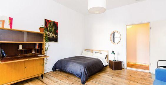 Schönes, geräumiges Schlafzimmer in Kreuzberg - Möbliertes Zimmer #Berlin-Kreuzberg #WG