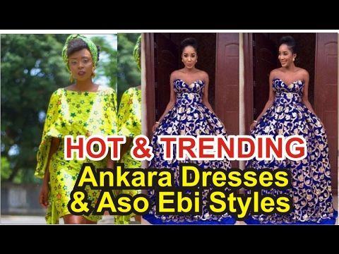 HOT TRENDING ANKARA STYLES & AFRICA AMERICAN FASHION STYLES