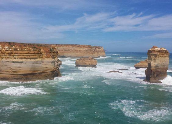 #greatoceanroad #australia #nofilter by rebecca__xoxo