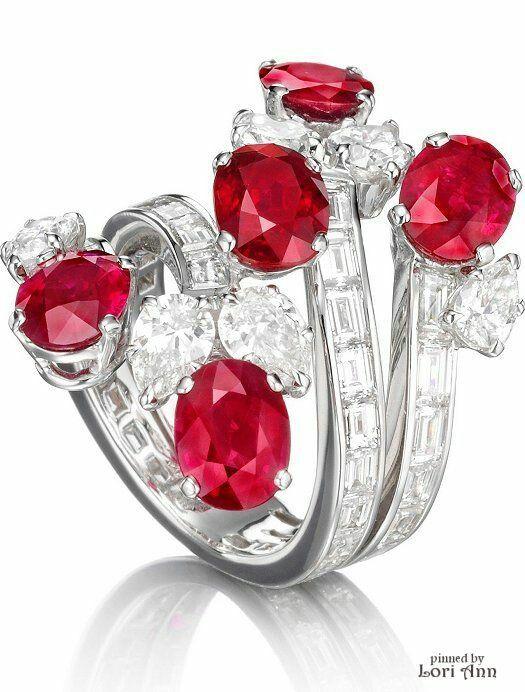 Pin By Monica On Gioielli Ruby Diamond Rings Jewelry Diamond