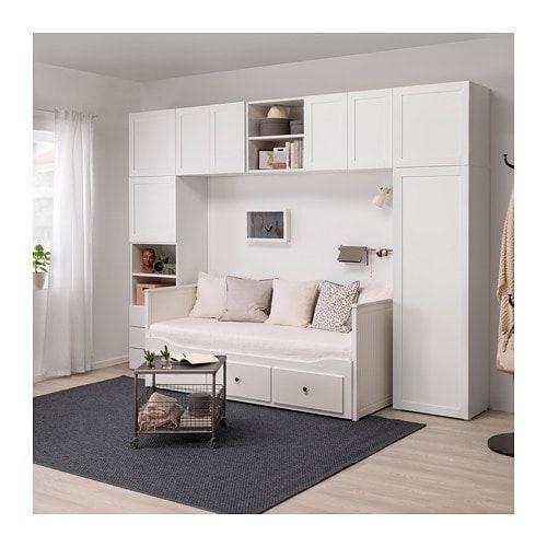 Platsa Wardrobe Whitefonnes Sannidal Ikea дизайн дома