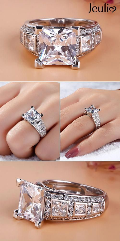 Pin On Silver Rings