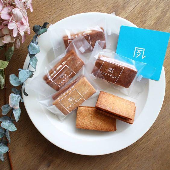 sucreuf シュクレフの焼き菓子 お菓子 クッキーサンド 食べ物のアイデア