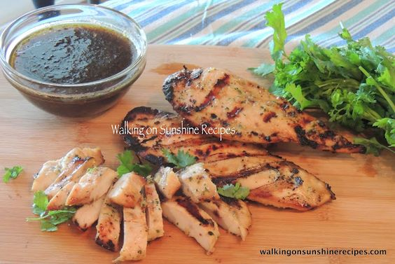 Walking on Sunshine: Perfect Marinade for Grilled Chicken...