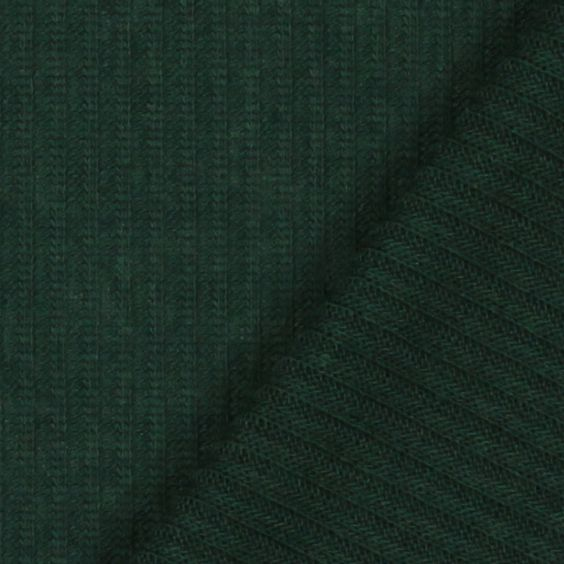 Fine Knit Ribbed Lima 8 - Polyester - Spandex - dark green
