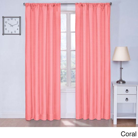 Kids Kendall Blackout Curtain Panel By Eclipse Kid Home