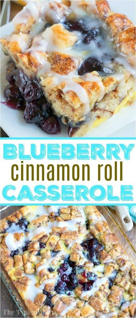 Cinnamon Roll Breakfast Casserole