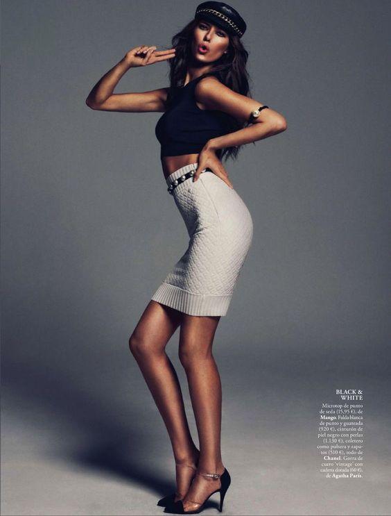 Nadejda Savcova - Elle Spain - ph Xavi Gordo