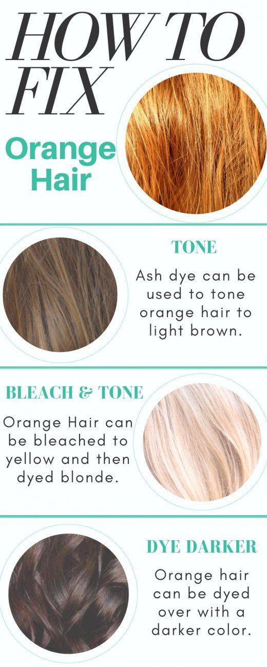 Color Correction How To Fix Orange Hair Hair Color Guide Tone