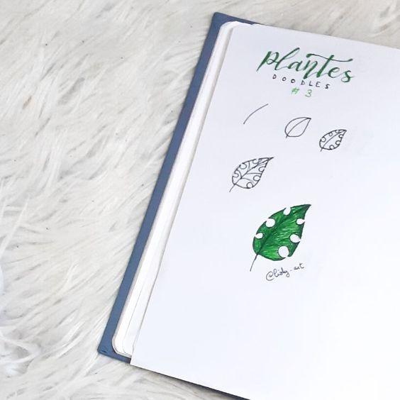 10 doodles de plantes pour votre Bullet Journal