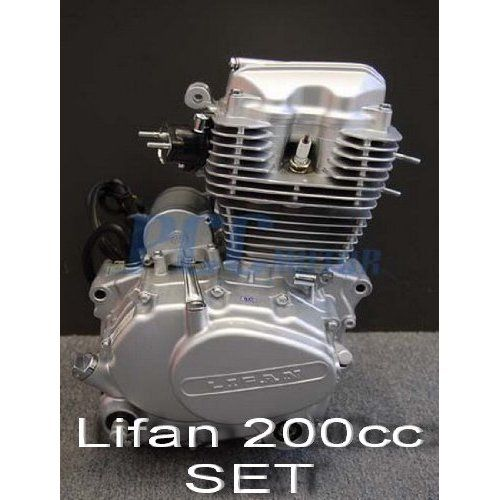 70l Lifan 200cc 5 Speed Engine Motor Cdi Motorcycle Dirt Bike Atv