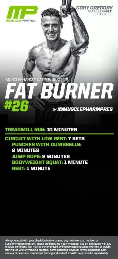 MusclePharm Fat Burner#26