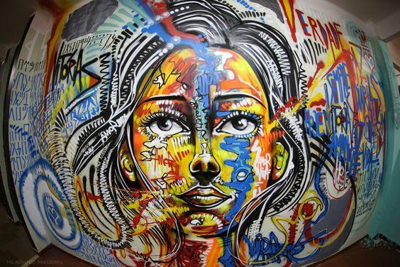 arte urbana em tela - Pesquisa Google
