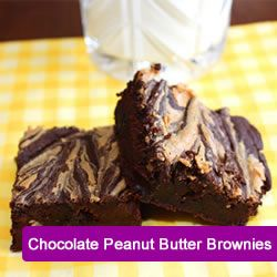 ......well, I'll try anything once, and I love peanut butter brownies so we'll see if this is a good substitute