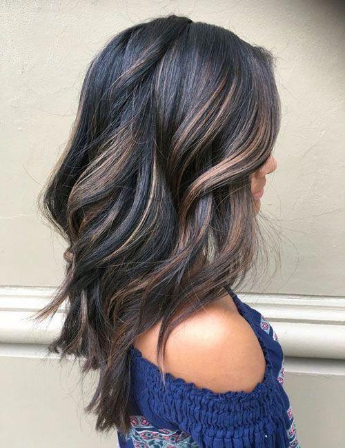 Top Balayage For Dark Hair Black And Dark Brown Hair Balayage Color 2020 Guide Hair Styles Hair Color Dark Balayage Hair Dark