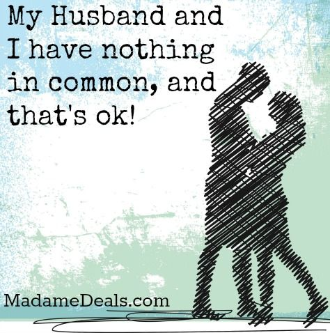 "Rachelle shares her story ""My Husband and I have nothing in common...and that's ok!"" http://madamedeals.com/husband-nothing-common-thats-ok/ #inspireothers #love #lovestory"
