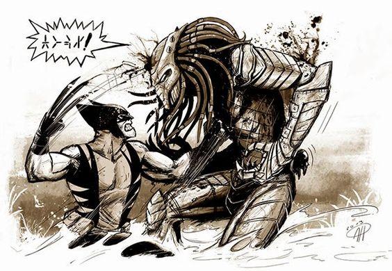 Wolverine x Predador ~ SuperVault