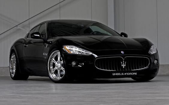 Cool Black Maserati Ghibli Concept HD Wallpaper