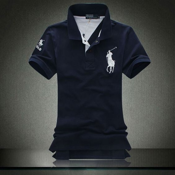 Ralph Lauren White Pony Polo Men Fashion