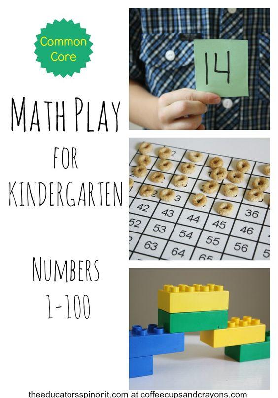 Numbers kindergarten, Kindergarten math and Spanish numbers on ...