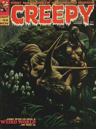 Creepy #36 (Issue)