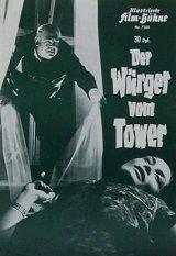 Strangler Of The Tower (1966) $19.99; aka: Der Würger Vom Tower; Stars Charles Regnier, Kai Fischer, Hans Reiser, Ellen Schwiers, Ady Berber and Christa Linder. (In widescreen format).