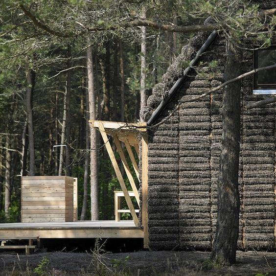 The Modern Seaweed House by Vandkunsten and Realdania Byg - Thisispaper Magazine