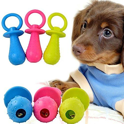 Agordo Durable For Puppy Dog With Bell Sound Pet Chew Toy Soft