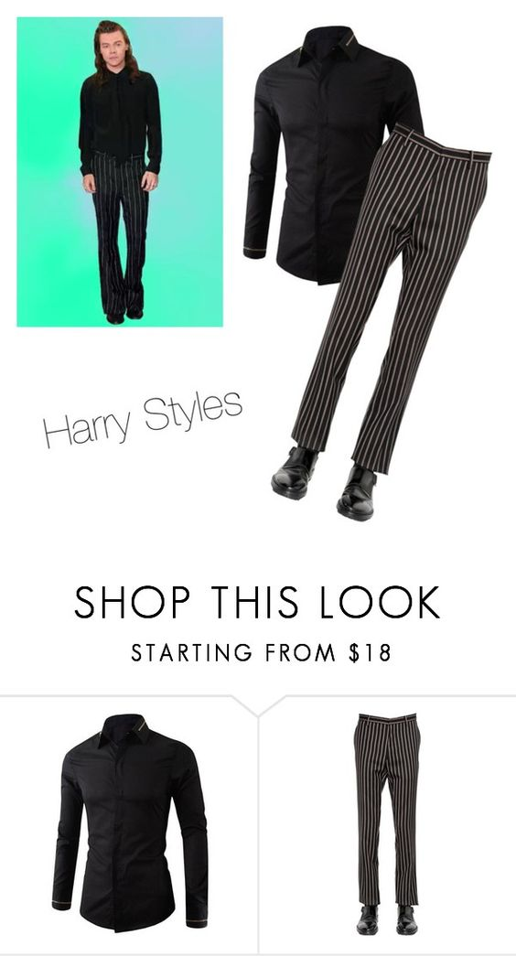 """""""Dress like Harry """" by stylishnut ❤ liked on Polyvore featuring Lanvin, men's fashion and menswear"""