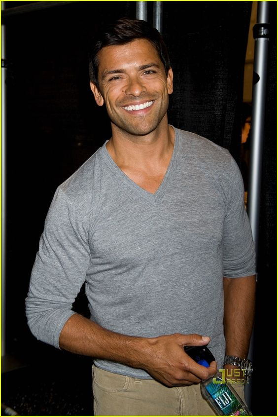 Mark Consuelos was born in Zaragoza, Spain, to an Italian mother and a Mexican father.