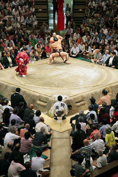 Estadio de Sumo Ryogoku Kokugikan, Tokio, Japón