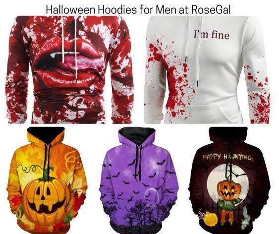Halloween Hoodies for Men at RoseGal