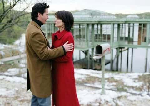"Sandra Bullock, Keanu Reeves in ""The Lake House"", 2006:"