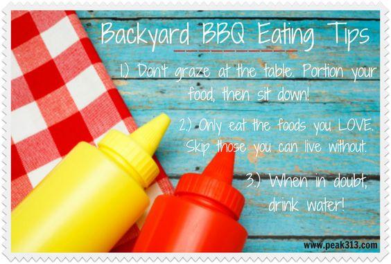 Backyard BBQ Healthy Eating Tips