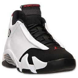 Men\u0026#39;s Air Jordan XIV (14) \u0026quot;Black Toe\u0026quot; Retro Basketball Shoes   White