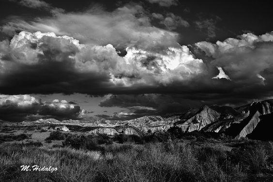 Nubes en Tabernas by Miguel Hidalgo on 500px