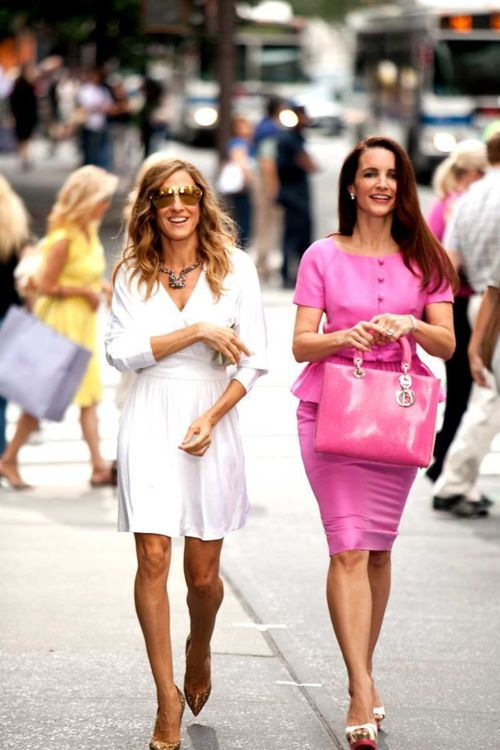 : Jessica Parker, Charlotte Sex, City Fashion, White Dress, Carrie Bradshaw, Carrie S Outfit, Sex And The City