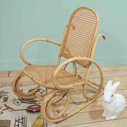 rocking chair pour enfant chaises bascule vintage et chaises. Black Bedroom Furniture Sets. Home Design Ideas