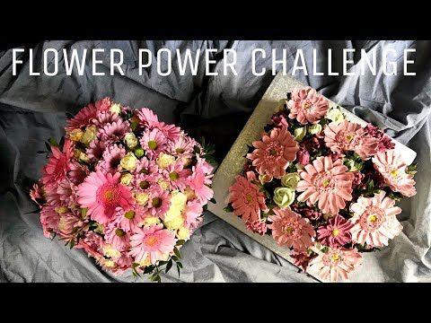 Seria Kwiaty Z Kremu 12 Gerbera I Margaretka Plus Flowerpowerwro Challenge Youtube Gerbera Challenges Flower Power