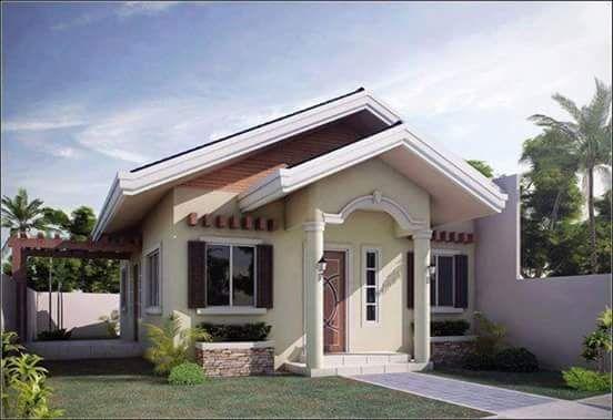 20 Small Beautiful Bungalow House Design Ideas Ideal For Philippines Small House Design Bungalow House Design Small House Plans Small bungalow house design with floor plan philippines